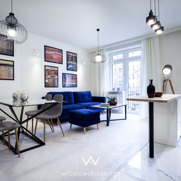 Białe mieszkanie w kamienicy, Wrocław