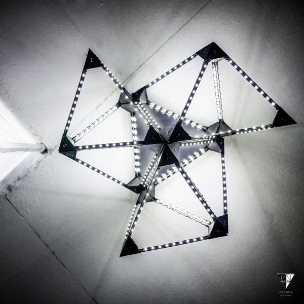 Struktury świetlne COSIMPLE  by Wlostowska