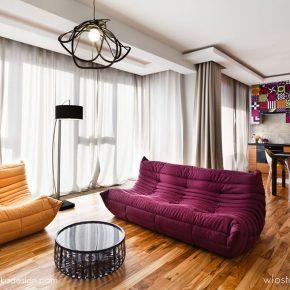 Kolorowe mieszkanie, Wrocław